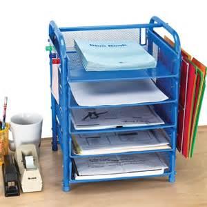 Really good desktop classroom papers organizer