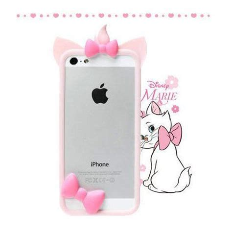 Iphone 5 5s 5c 5g Se Cat 3d Soft Armor Bumper Sarung phone disney cat bumper cell phone frame cases covers for iphone 5 5s 5c