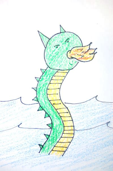 how to draw doodle creatures how to draw a sea creature 10 steps with pictures wikihow