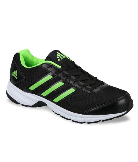 adidas black running sport shoes price in india buy