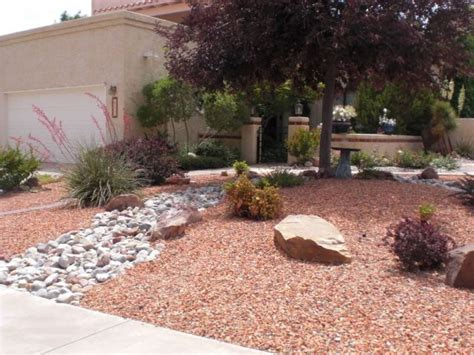 xeriscape landscaping front yard pinterest