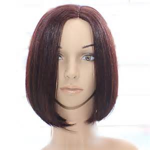 are there any wigs made from human hair that is styled in a two strand twist for black human hair hand top made wig bob wigs brazilian hair short