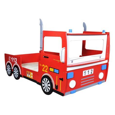 acheter lit pour enfant design camion de pompier 200