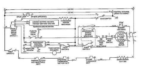 kenmore gas dryer schematic wiring diagrams whirlpool