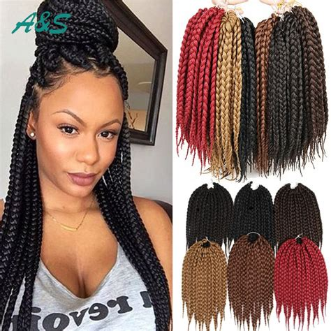 box braid hair pack find more bulk hair information about 12 quot box braids hair