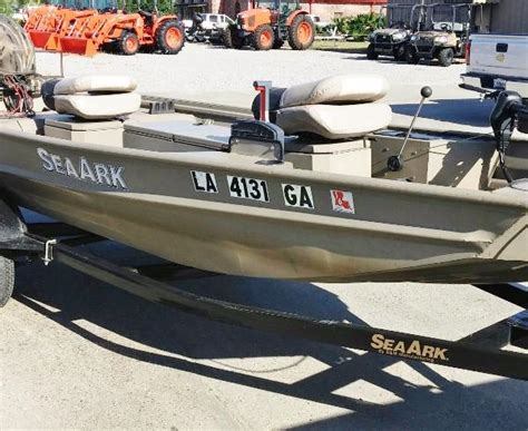 used fishing boats for sale in kuwait used 2010 sea ark boats rebel 15 for sale in abbeville