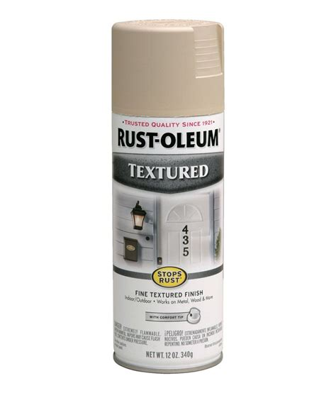 buy rust oleum stops rust textured spray paint color sand at low price in india