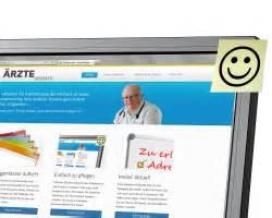 Muster Angebot Internetauftritt Einfach Zu Pflegen 196 Rzte Webseite
