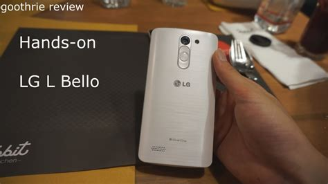 Hands-on & Preview LG L Bello Dual (Thai) - YouTube L Bello