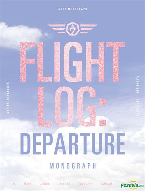 Got7 Arrival Album Logbook yesasia got7 monograph flight log departure dvd