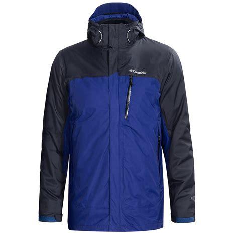 large jackets columbia sportswear rural mountain interchange omni heat 174 jacket 3 in 1 waterproof