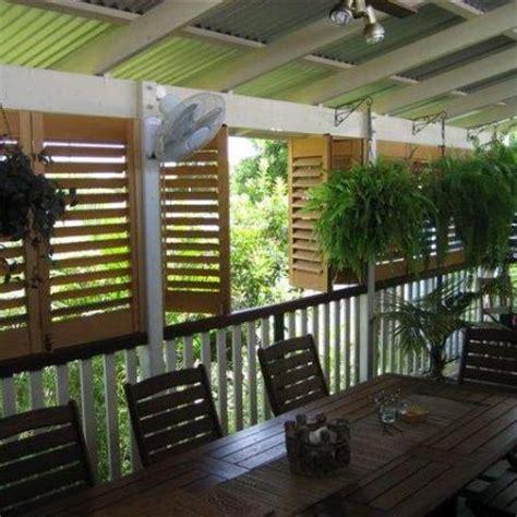 jakkos plantation shutter enclosed veranda diy shutter