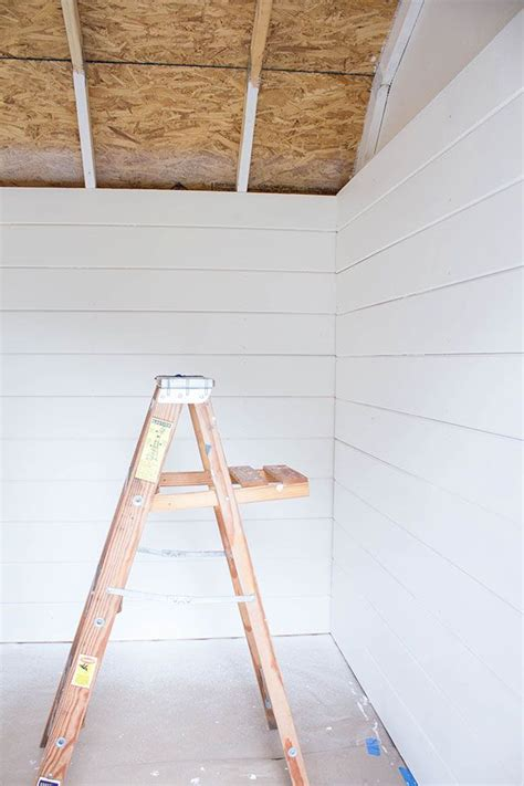 How To Paint Shiplap 17 Best Images About Diy On Planked Walls