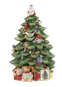 spode christmas tree cookie jar christmas pinterest