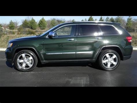 green jeep grand cherokee sold 2011 jeep grand cherokee limited 4x4 5 7 hemi rear