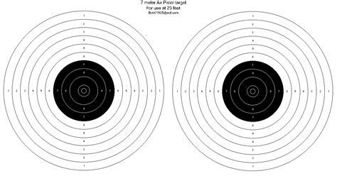 printable airgun targets pdf pin rifle targets printable airgun benchrest silhouette