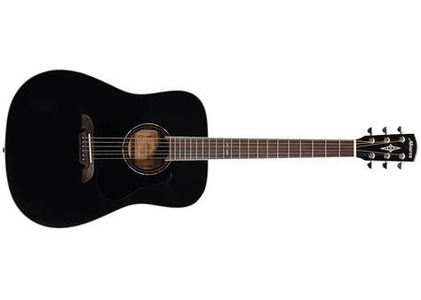 Guitar Black alvarez ad60bk acoustic guitar black finish