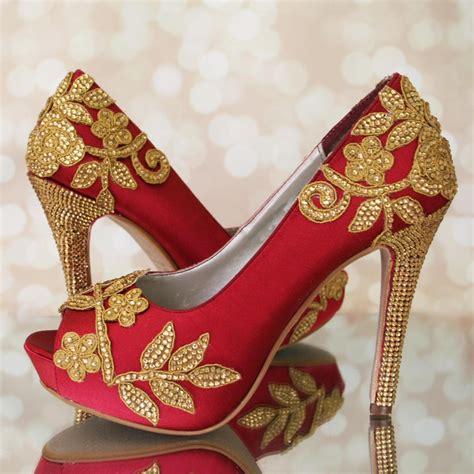 Wedding Shoes Indian by Indian Wedding Indian Wedding Shoes High Heel
