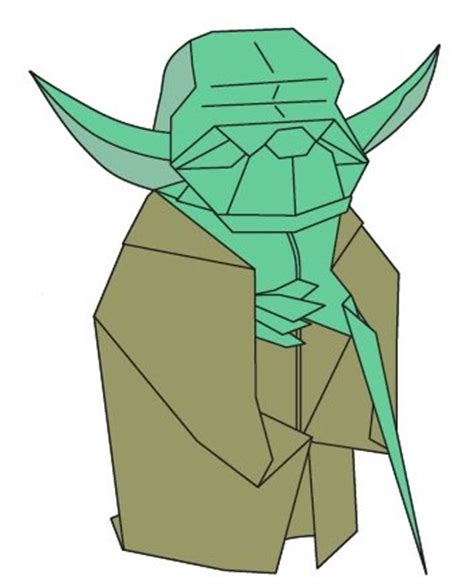 Yoda Origami - how to make origami how to make origami yoda