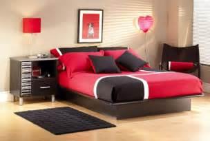 teenage girls bedroom furniture contemporary red black teenage girls bedroom furniture