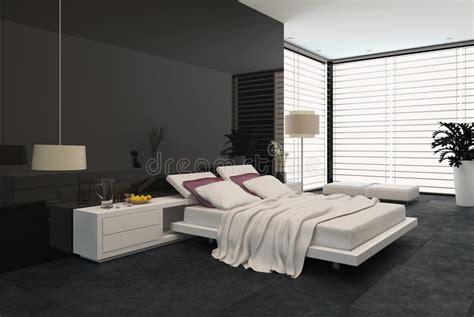 spacious modern bedroom stock illustration illustration of modern 41216030