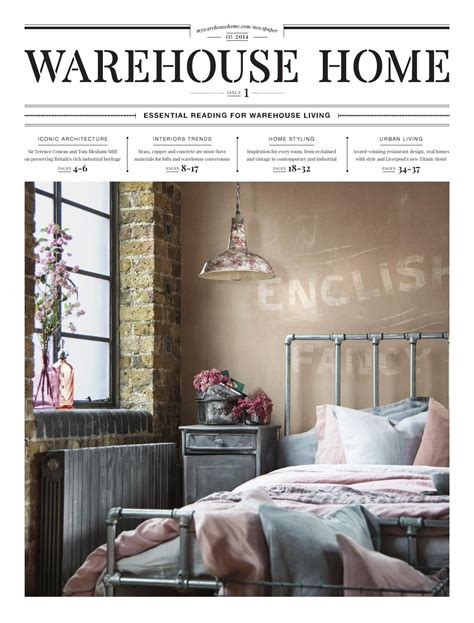 home design digital magazine issuu warehouse home launch issue by warehouse home