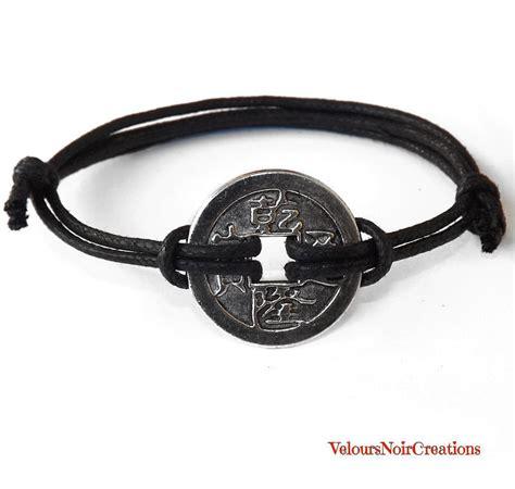 bracciali porta fortuna bracciale uomo donna portafortuna con moneta cinese