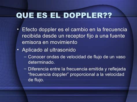 el eco de los conceptos basicos de doppler fetal