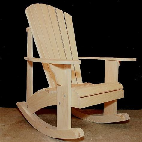 rustic rocking chair kit 1000 ideas about adirondack chair kits on