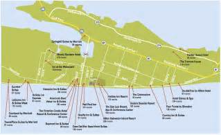 map of galveston island galveston island convention center