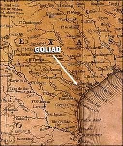 goliad map pbs the west goliad