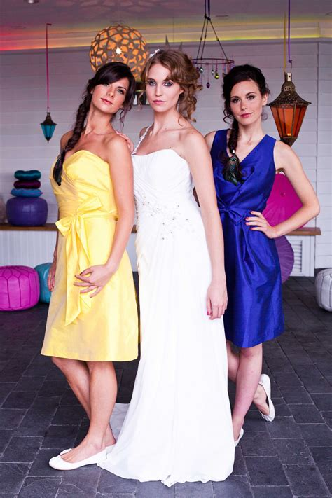 bridesmaids dresses shoes dessy frilly frocks