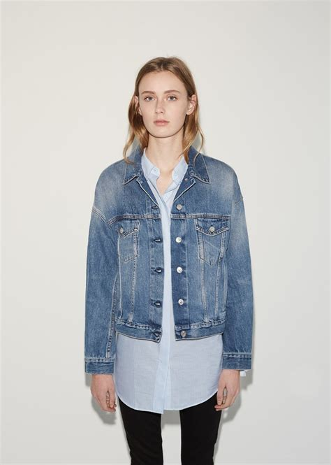 design lab jean jacket lab denim jacket la garconne