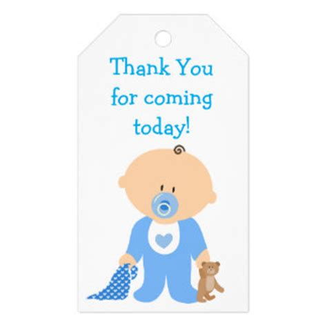 baby shower thank you gift tags zazzle au