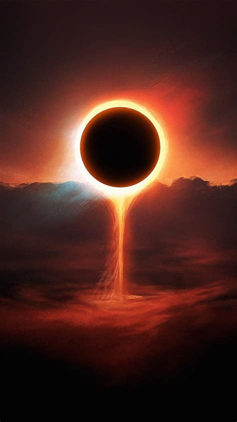 sun eclipse fantasy art artwork skies wallpaper