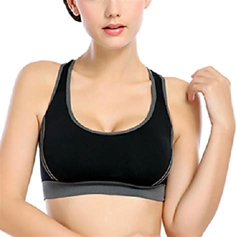 Active Co S Tank With Brasports No Pad isassy s sport bra running fitness exercise pad racer tank crop top