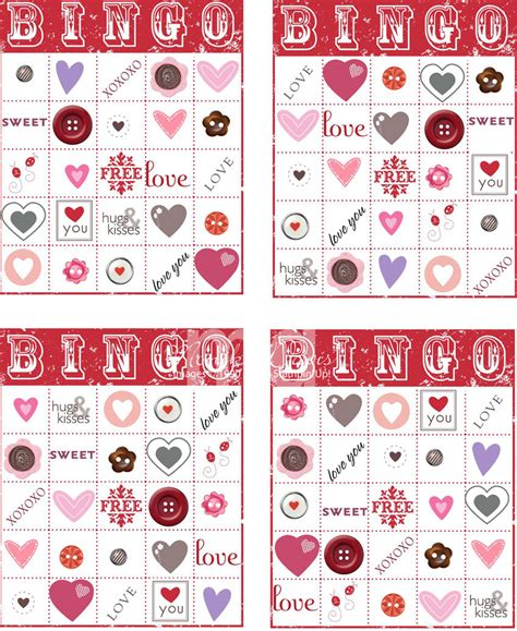 valentine s day bingo sting together at monika s