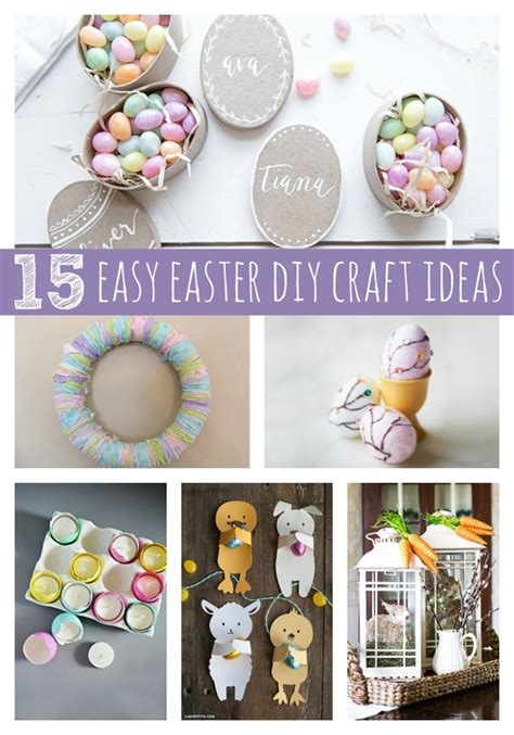 15 easy easter diy ideas pretty my party