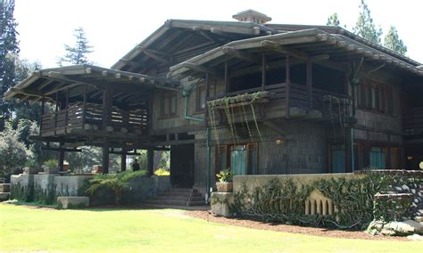 the greene house gamble house the abode that saw greene and greene go back to the future art and
