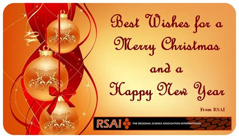 regional science best wishes for a merry christmas and a