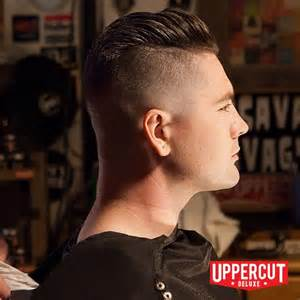 undercut slick back styled and finished with