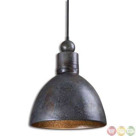 Single Pendant Light Fixture Adelino Rustic Single Pendant Light Fixture 21976