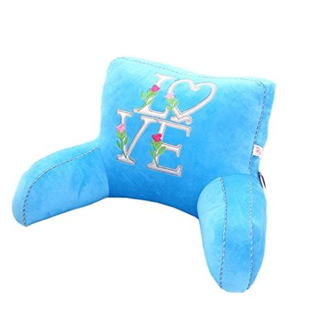 kids bed rest pillow with arms creative letters love kids bed rest pillow with arms lumbar support reading pillows backrest