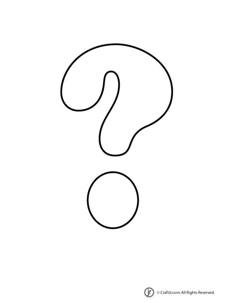 printable question mark free coloring pages of question marks