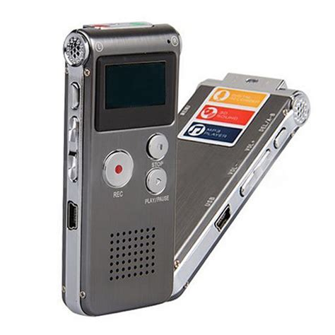 voice activated 8 gb usb lcd pen digital voice recorder dictaphone mp3 sl ebay