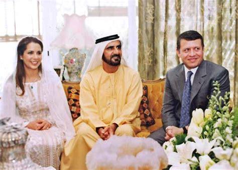 la princesa haya de jordania se casa  el heredero de dubai