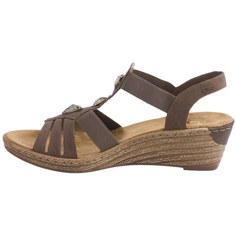 Sandal Wedges Ls03 Hitam 69 rieker fanni 69 wedge sandals for save 80