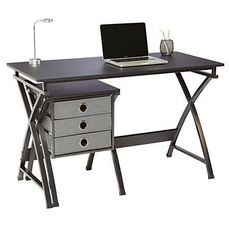 lap desk office depot brenton studio 174 x cross desk and file set 29 1 2 quot h x 47 5