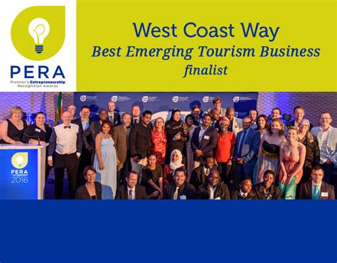 Best Mba West Coast by West Coast Way Pera Awards Best Emerging Tourism Business