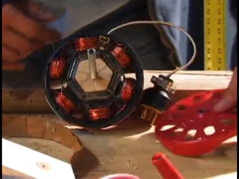 induction motor diy hack alternator  watt   rpm